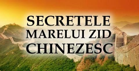 secretele marelui zid chinezesc